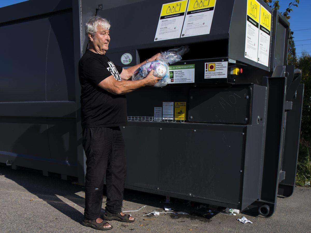 Kierrätys hoituu kauppareissulla
