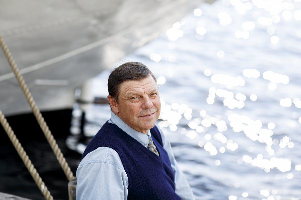 Merillä tarvitaan kovaa kanttia ja merimiehen sydän