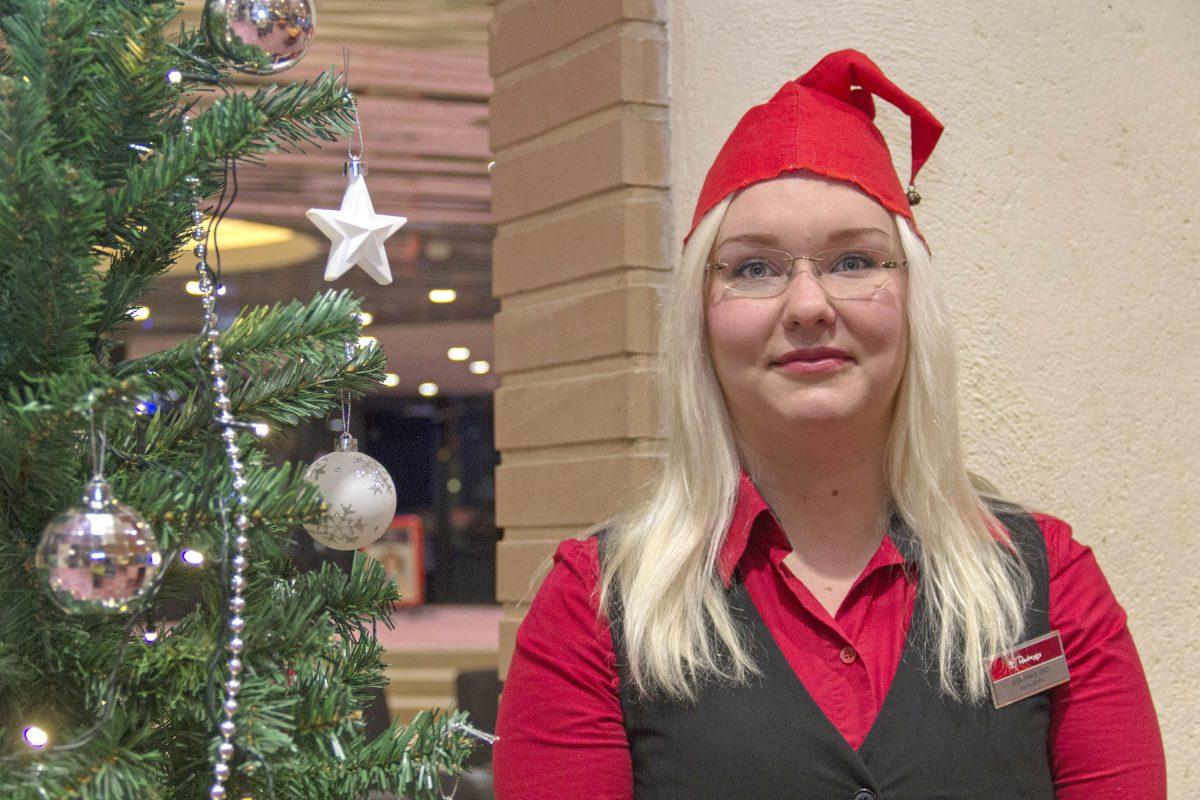 Ihanat asiakkaat saavat joulumielelle