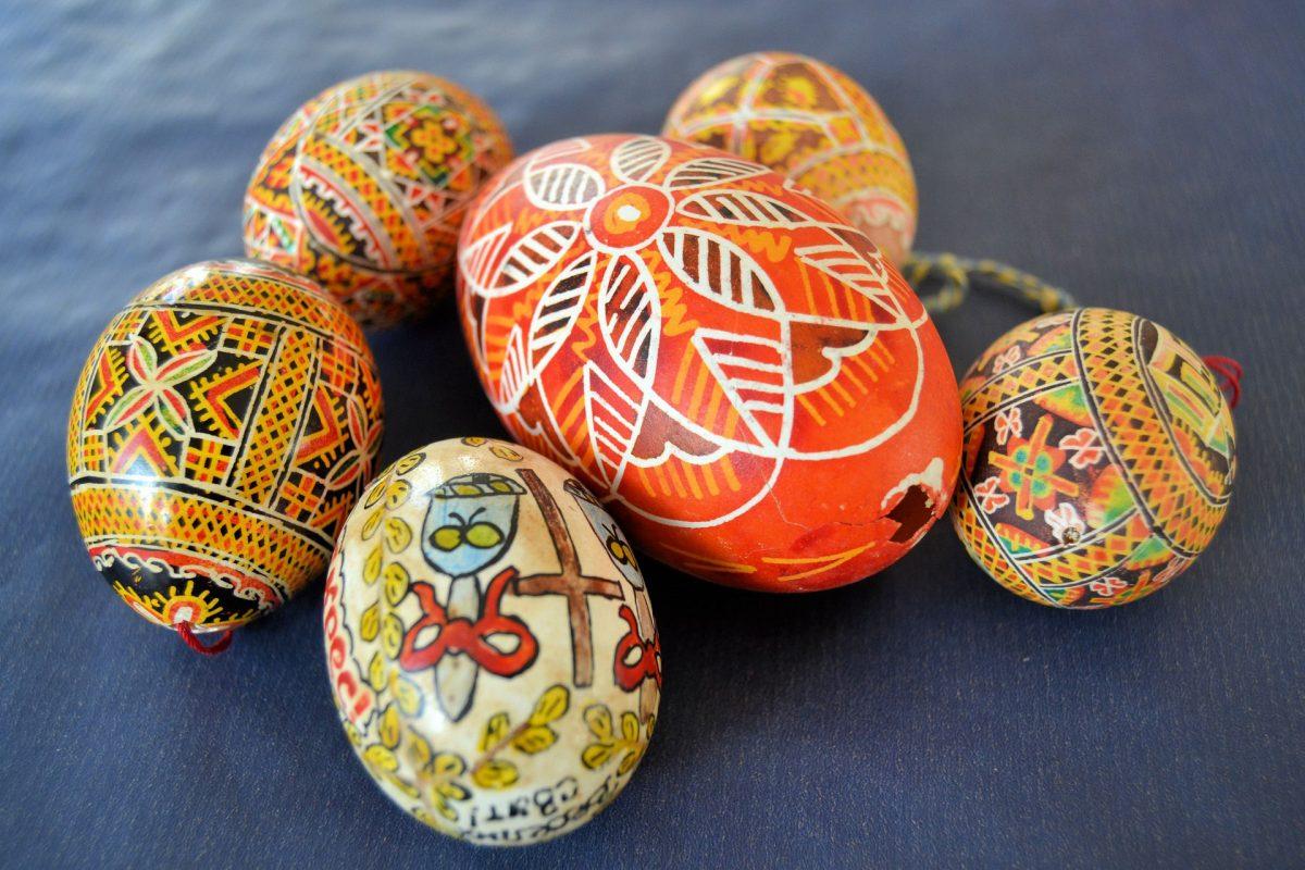 Punastunut pääsiäismuna ällistytti Rooman keisarin