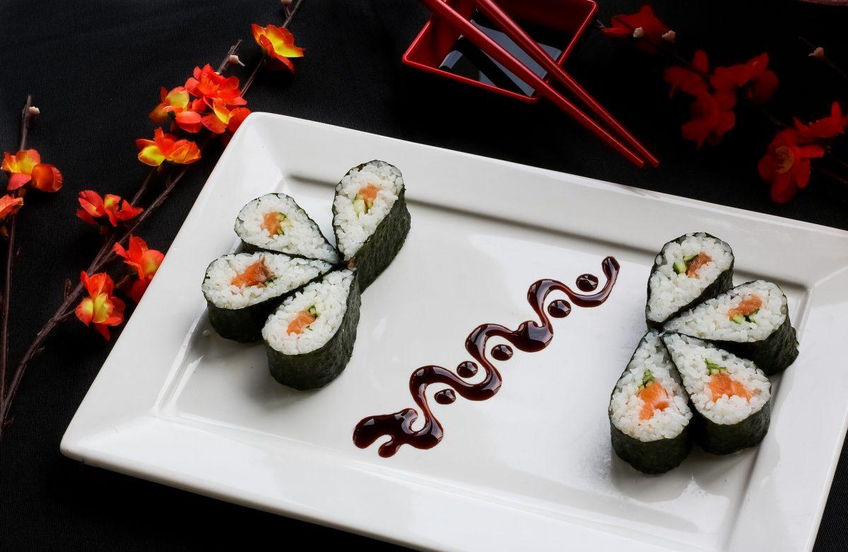 Sushi jo syntyessään
