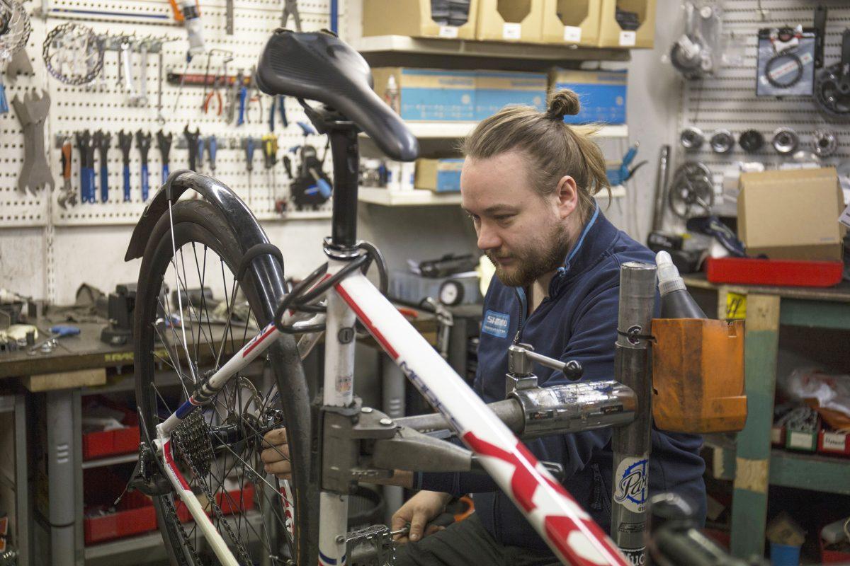 Hyvin huollettu pyörä  kestää käytössä pitkään