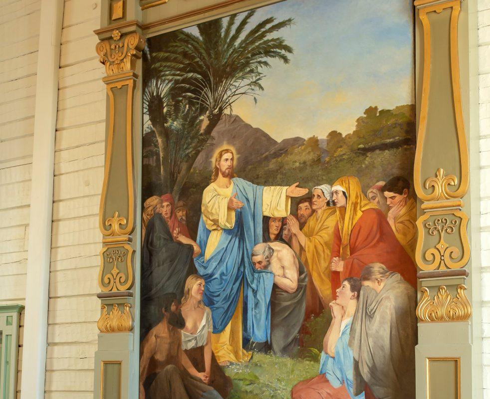 Jaalan kirkon alttarimaalaus pysäyttää