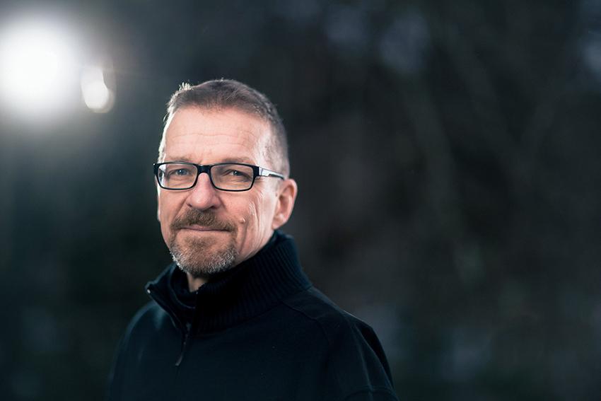 Kirjailija Markku Ropponen