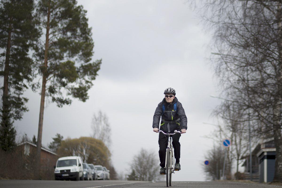 Pyöräillään kilometrit yhteiseen pottiin