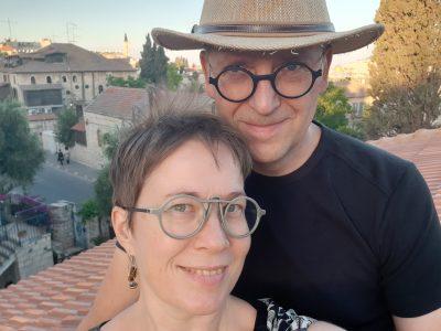 Iina Martikainen ja Jukka Hautala