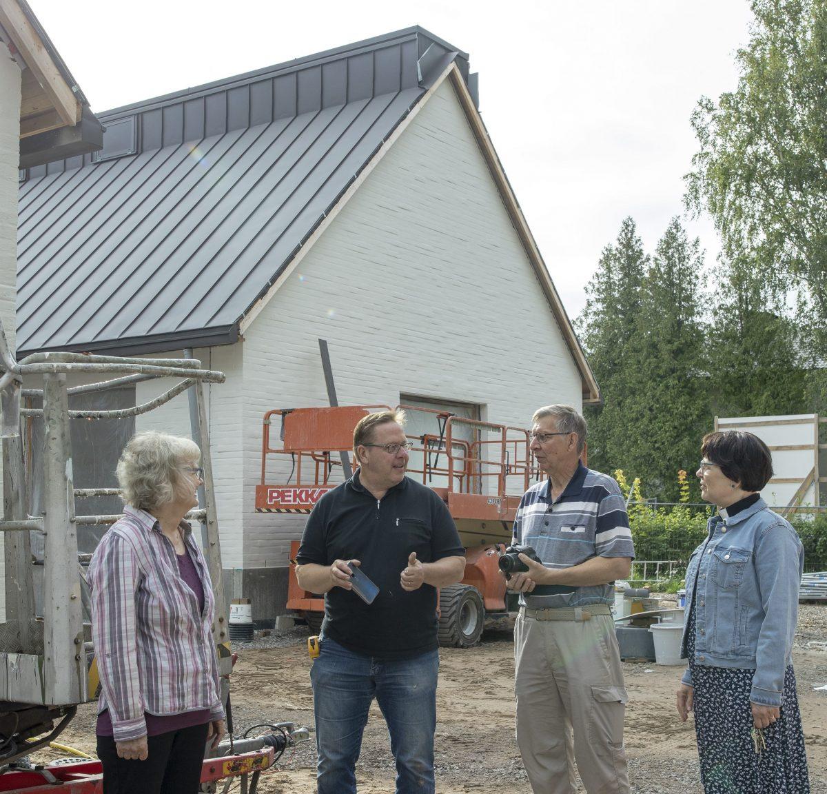 Kirkon laajennus on mahdollisuus yhteisöllisyyteen