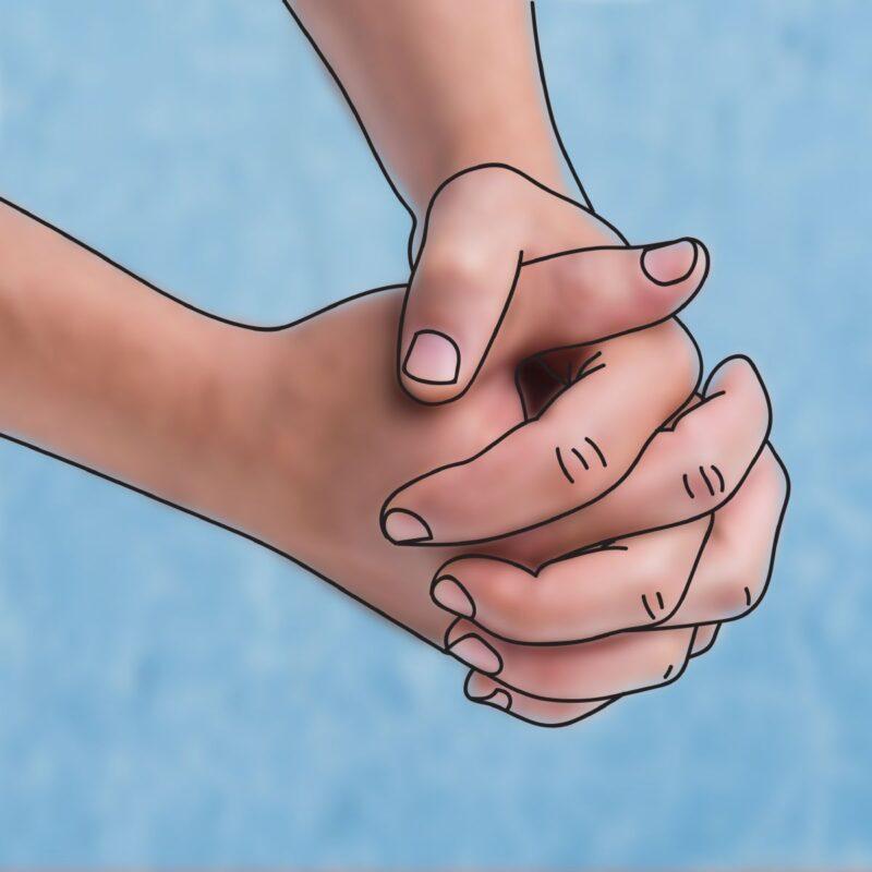 Ristityt kädet; selkokuvasarjasta